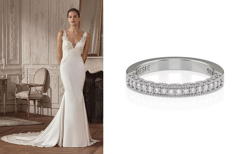 7 vestido-de-noiva-classico-e-alianca-meia-alianca-de-diamantes-tradicional-poesie