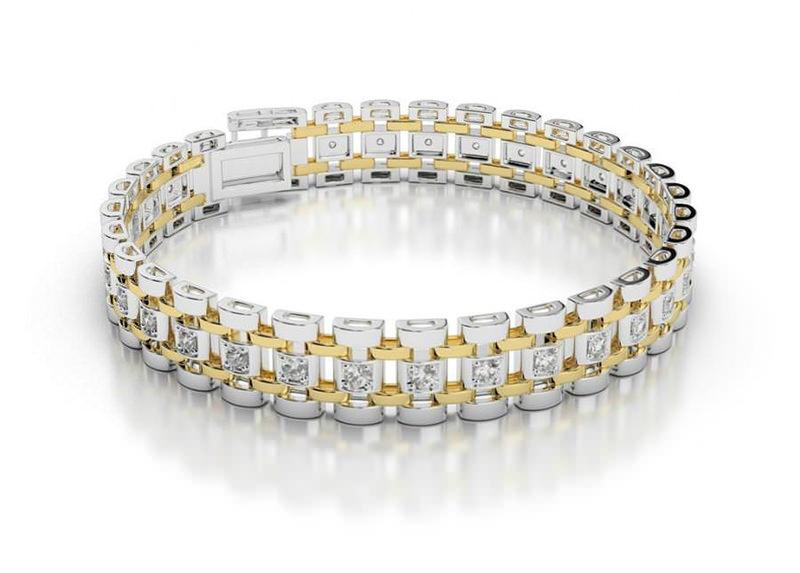 ideias-de-acessorios-para-noivo-usar-casamento-acessorios-masculinos-pulseira-com-diamantes