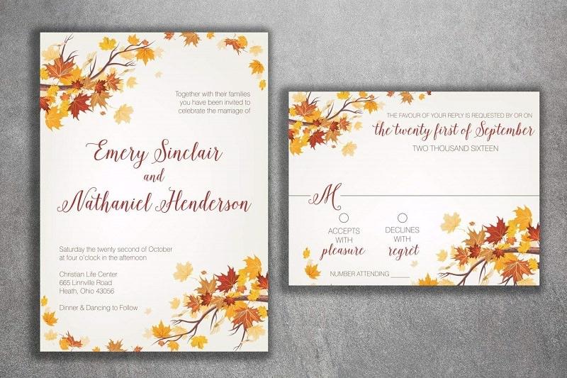 1-convite-de-casamento-outonal-folhas-secas