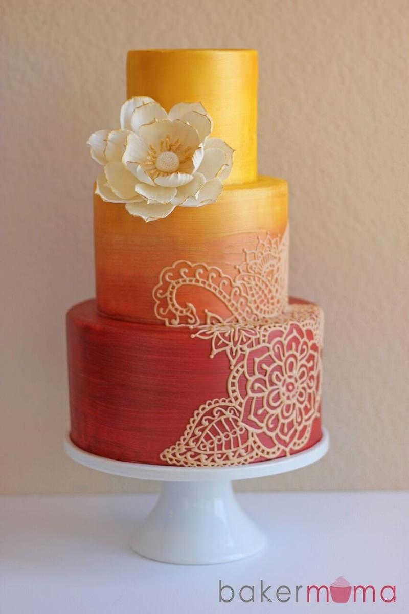2-bolo-de-casamento-degrade-de-laranja