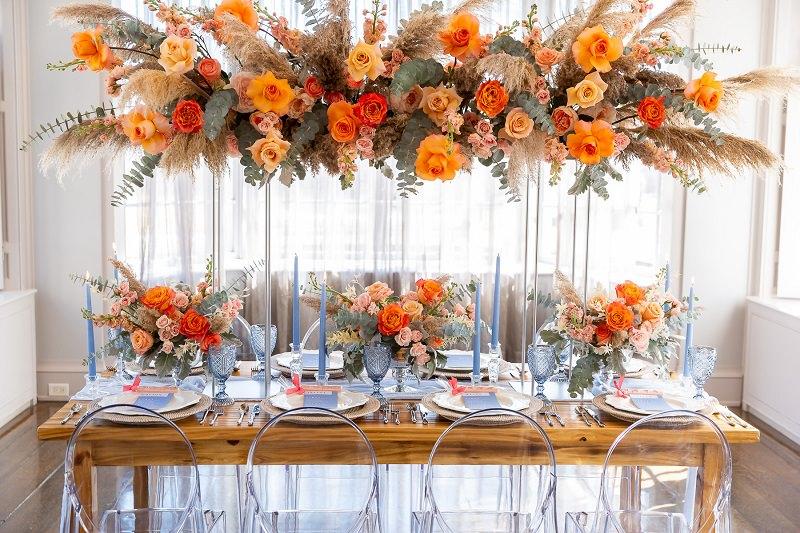 3-decoracao-da-mesa-de-convidados-laranja