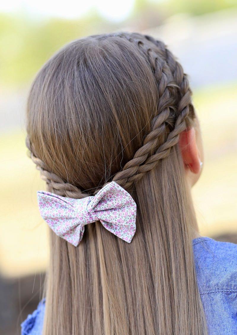 penteado-dama-de-honra-cabelo-liso-tranca-e-laco