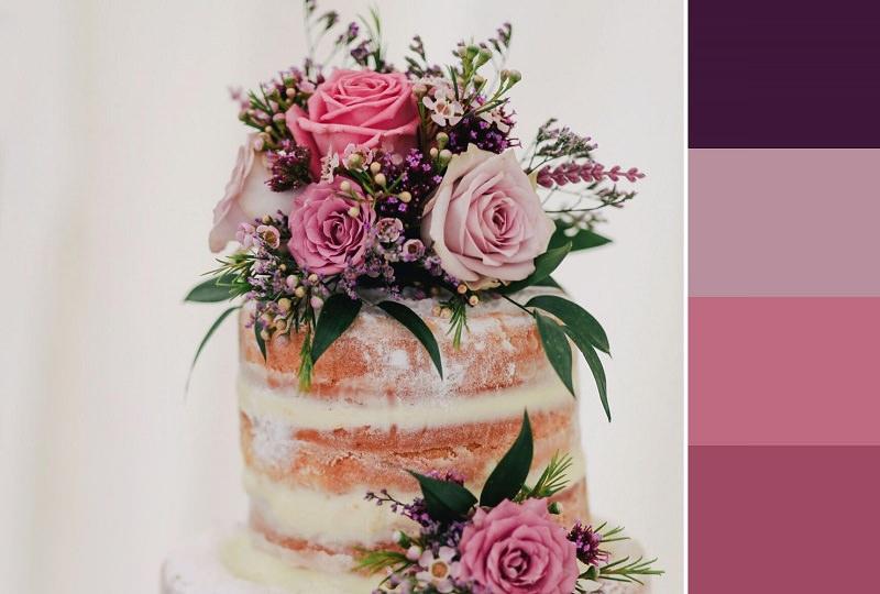 bolo-em-tons-de-rosa-inspiracao-cartela-de-cores-casamento