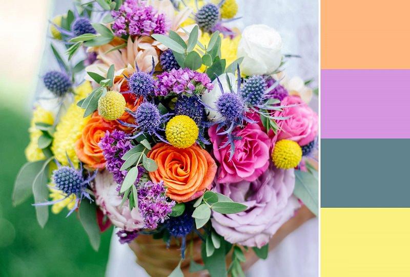flores-coloridas-para-cartela-de-cores-casamento