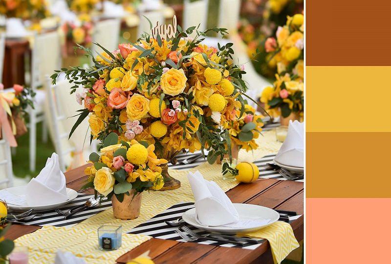 mesa-de-convidados-em-tons-de-ocre-inspiracao-para-cartela-de-cores