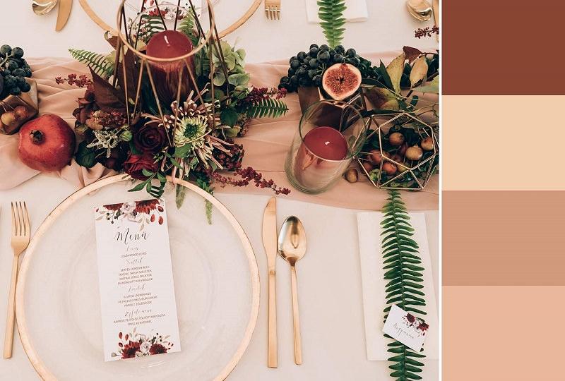 mesa-rustica-para-inspirar-cartela-de-cores-casamento