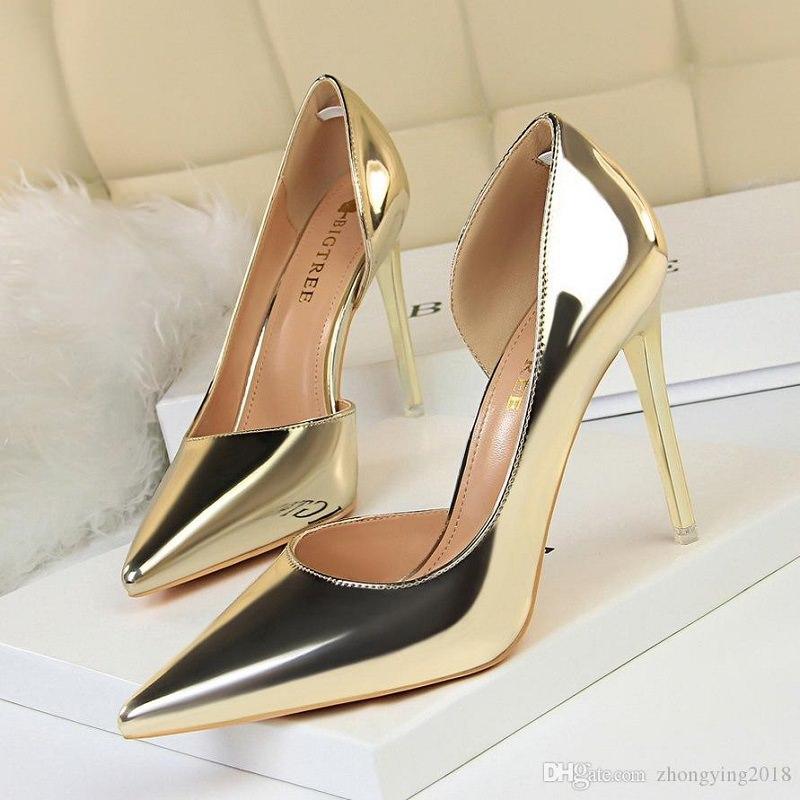 10-sapato-de-casamento-de-noiva-dourado-metalico