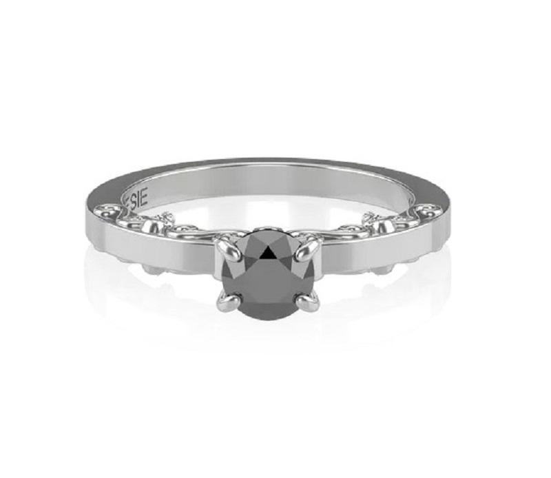 anel-de-noivado-diamante-negro-romantico-endless-poesie