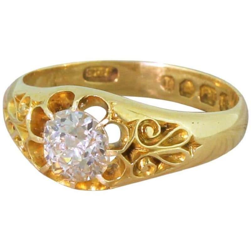 anel-de-noivado-com-arabescos-vitorianos-pedido-de-casamento-vintage