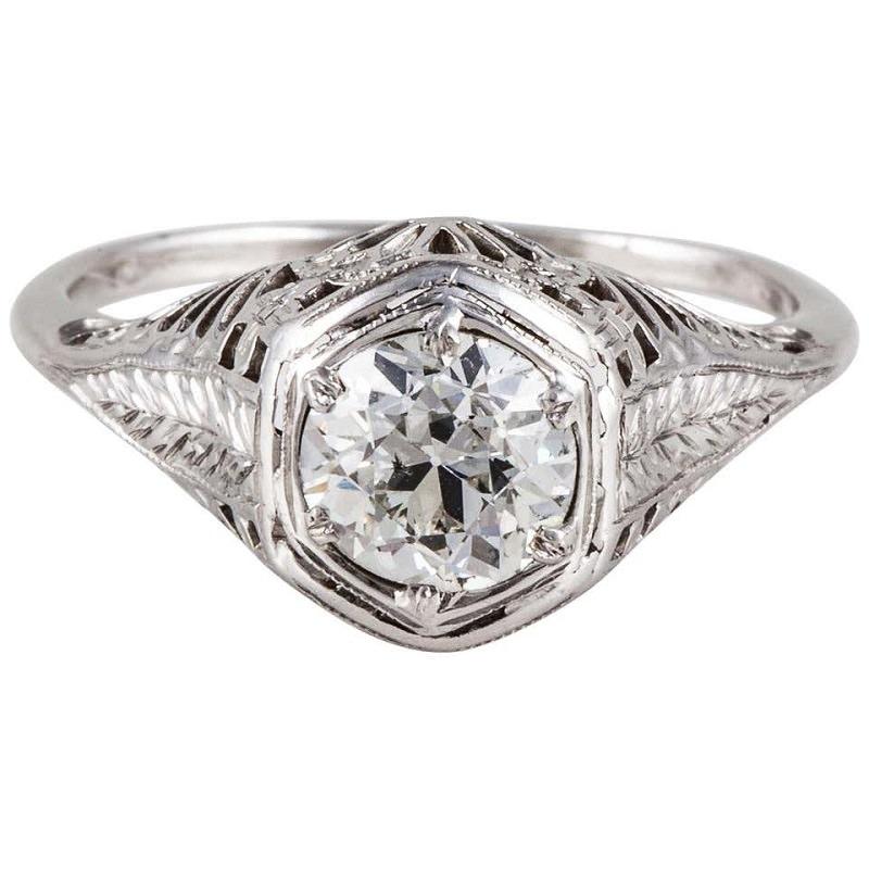 anel-de-noivado-vintade-estilo-art-deco