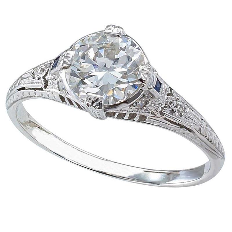 anel-solitario-art-deco-diamantes