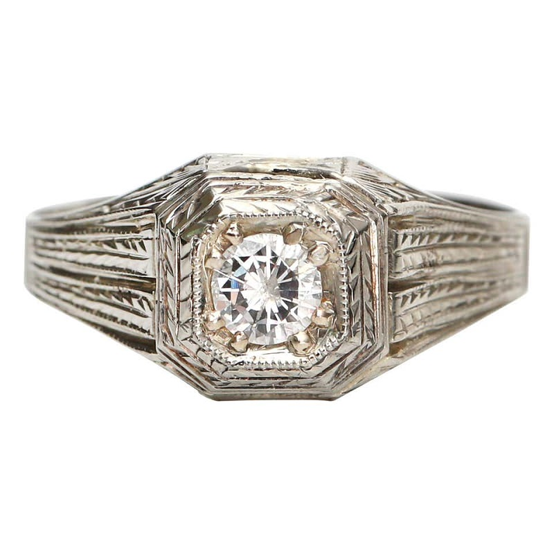anel-solitario-de-ouro-branco-estilo-art-deco