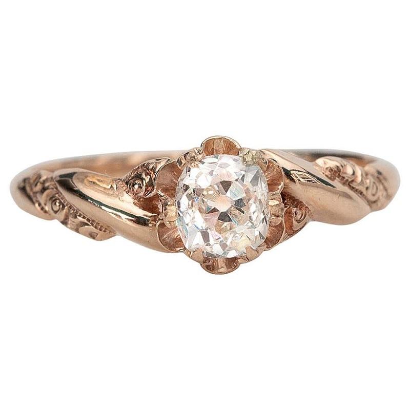 anel-solitario-diamante-vintage-vitoriano