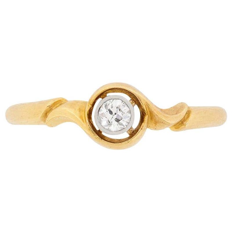 anel-solitario-vintage-vitoriano-com-diamante