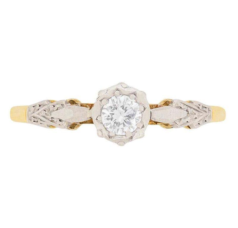 anel-solitario-vitoriano-vintage-pedido-de-casamento