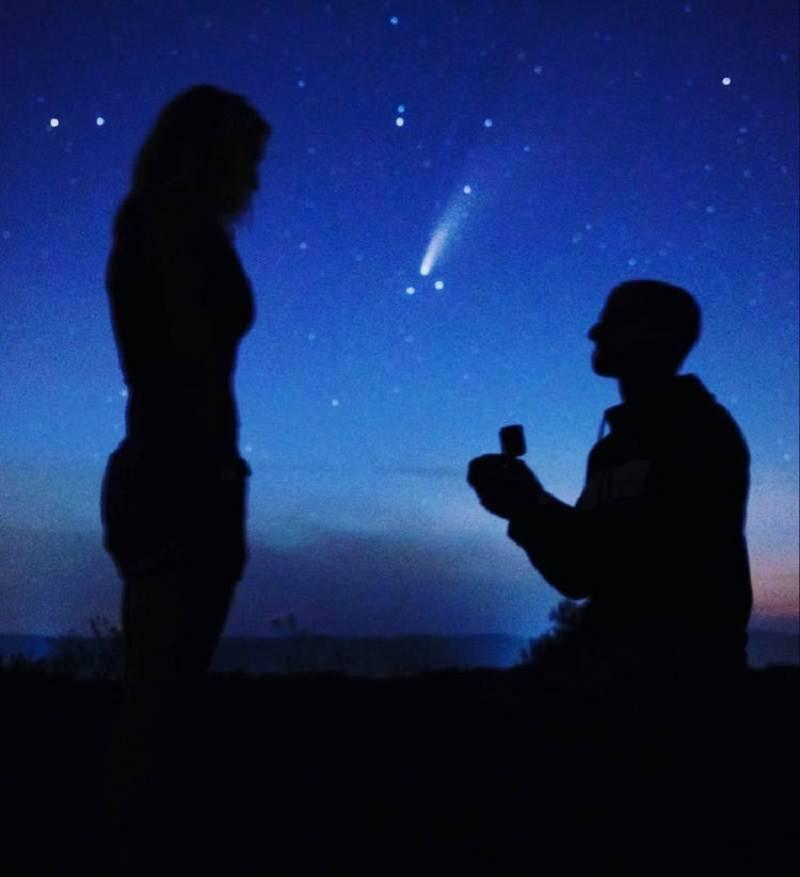 pedido-de-casamento-cometa-raridade-6800-anos-john-nicotera-erica-pendrak