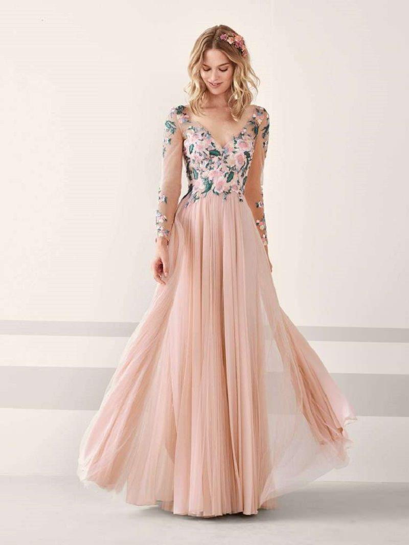 16-vestido-de-noiva-rosa-com-flores