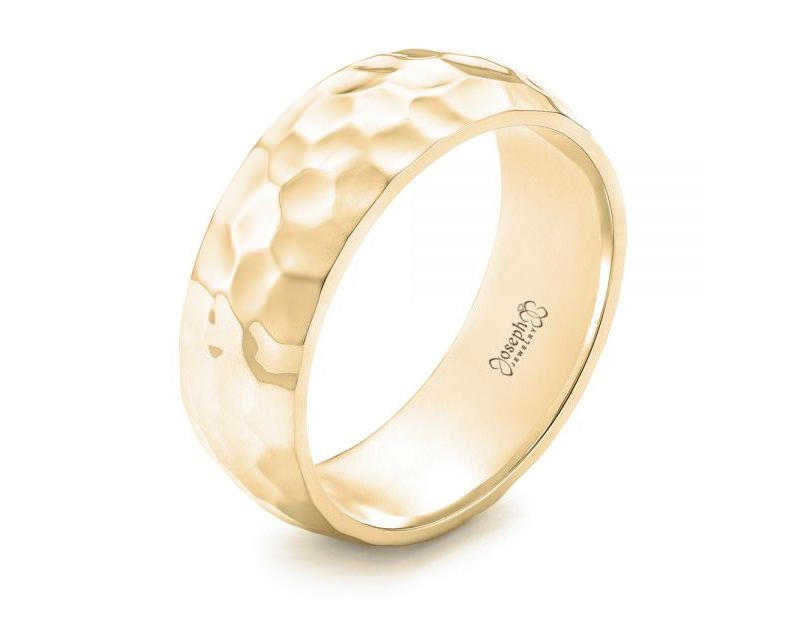 15-anel-de-ouro-martelado-alianca-masculina