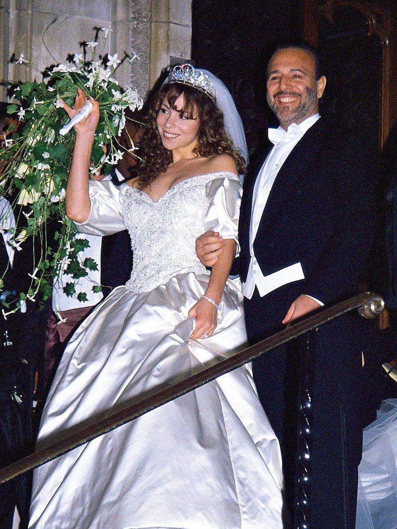 1990-mariah-carey-casamento-vestido-de-noiva-da-decada-celebridades